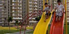 Kids' Play Area at Bestech Park View City 1