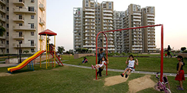 Childrens Play Area at Park View City 1