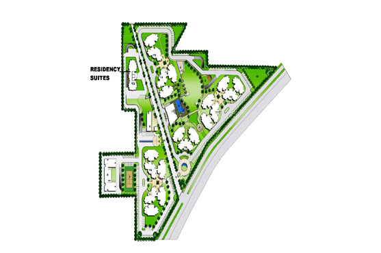 Park View Residency Site Plan