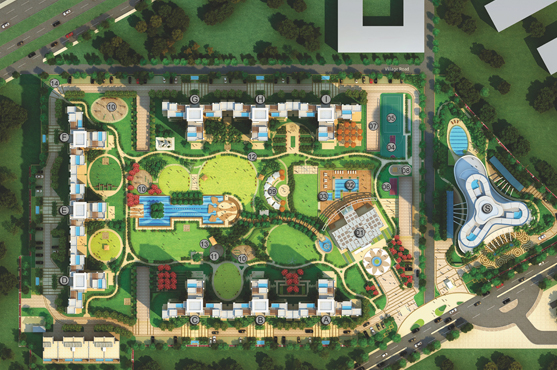Park View Grand Spa Site Plan